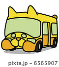 シンプルイラスト「車80 幼稚園バス」  6565907