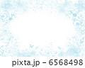 植物と蝶々のフレーム 6568498
