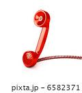 Telephone tube over white 6582371