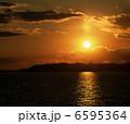 霞ヶ浦 夕陽 6595364