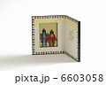 飾り用雛人形の屏風のミニチュア 6603058