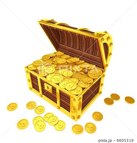 ポイントコインでいっぱいの宝箱 6605319