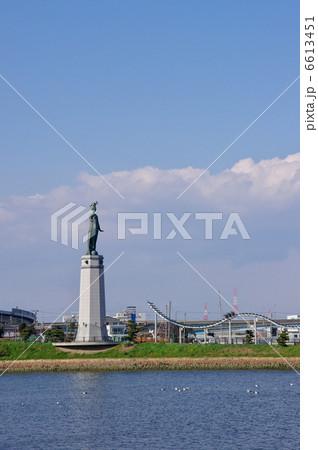 堺旧港の女神像 6613451