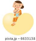親子 ハート 赤ちゃんのイラスト 6633138