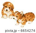 子犬 犬 いぬのイラスト 6654274