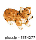 子犬 犬 いぬのイラスト 6654277