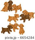 子犬 犬 いぬのイラスト 6654284