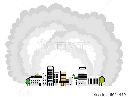 大気汚染のイラスト素材 6664430 Pixta