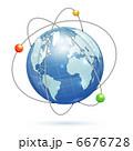球体 グローバル 地球のイラスト 6676728