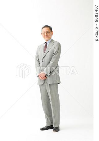 ビジネスマン・全身(役員・管理職) 6683407