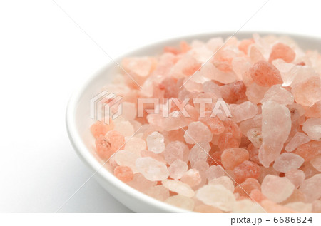 岩塩 洋皿 白バック 6686824