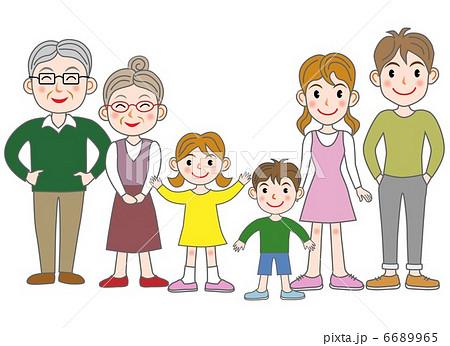 家族(三世代) 6689965