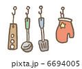 キッチン用品 調理器具 キッチン雑貨のイラスト 6694005