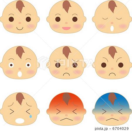 赤ちゃん 顔 表情 6704029