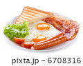 breakfast with fried eggs 6708316