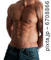 胴 胴体 筋肉の写真 6708866