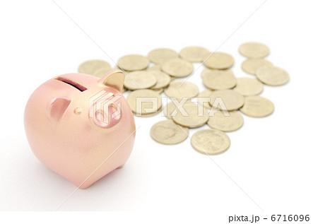 豚の貯金箱 銅 500円 6716096