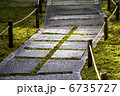 石段 日本庭園 石の写真 6735727
