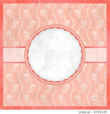 Vintage pink frame 6736185