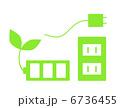 節電 コンセント プラグのイラスト 6736455