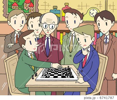 チェスの試合 6741787