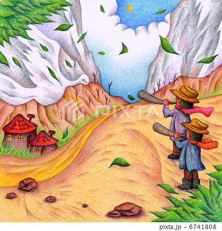 峡谷の笛吹き 6741808