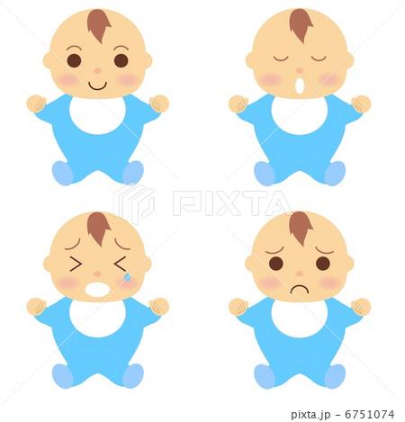 赤ちゃん 服 青 6751074