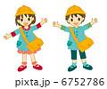 幼稚園児 子供 女の子のイラスト 6752786