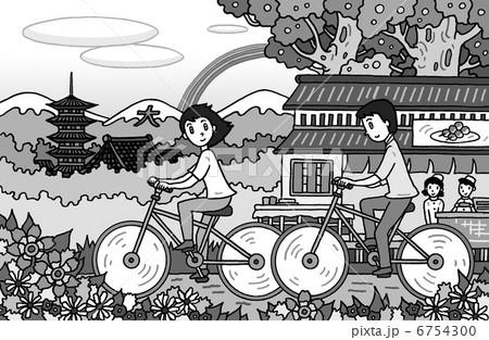 サイクリング 6754300