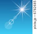 日光 日差し サンビームのイラスト 6782685