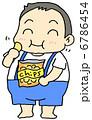 肥満 デブ 肥満児のイラスト 6786454