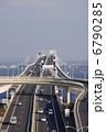 アクアライン 東京湾アクアライン 道路の写真 6790285