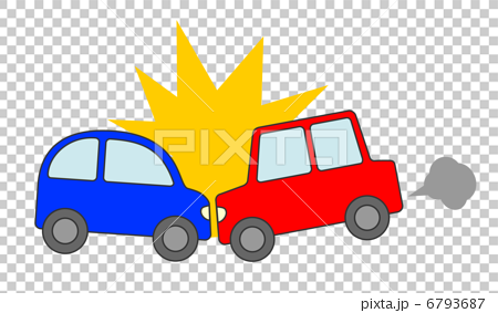 Car rear-end accident 6793687