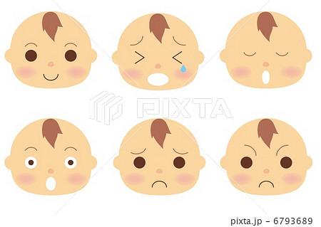 赤ちゃん 顔 6793689