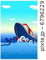 貨物の船 貨物船 運搬船のイラスト 6796229