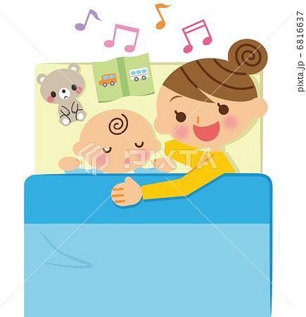 寝かしつけ 赤ちゃん 6816637