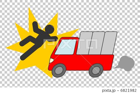 トラック 人身事故 6821982