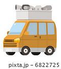 軽自動車 ベクター 車のイラスト 6822725