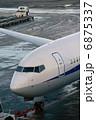 飛行機 旅客機 ジェット機の写真 6875337