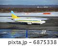 飛行機 旅客機 ジェット機の写真 6875338