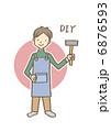 DIYな男性 6876593
