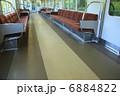 電車内 山陽電車 座席の写真 6884822