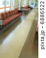 電車内 山陽電車 座席の写真 6886522