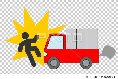 トラック 人身事故 6889654