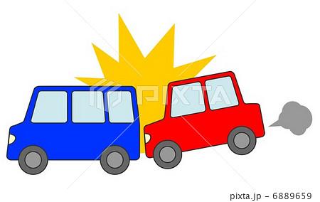 自動車 追突事故 6889659