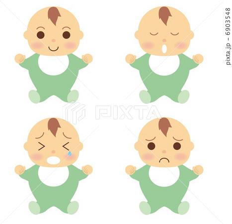 赤ちゃん 服 緑 6903548