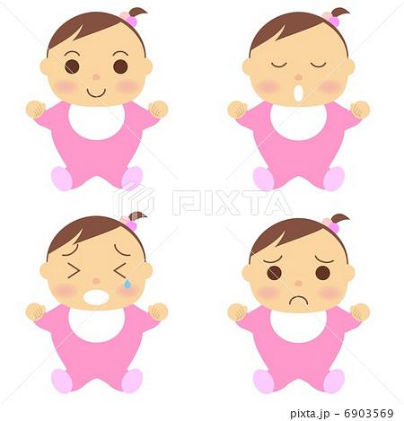 赤ちゃん 女の子 6903569