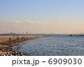 稲毛海岸 稲毛海浜公園 海辺の写真 6909030