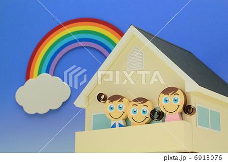ペーパークラフト家族 6913076
