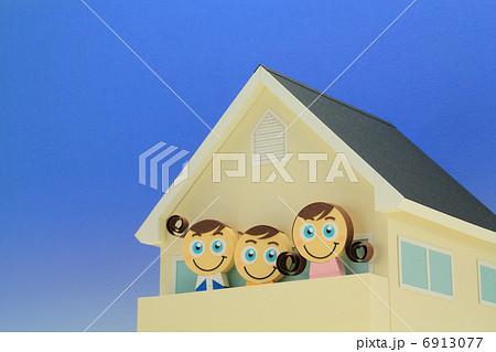 ペーパークラフト家族 6913077
